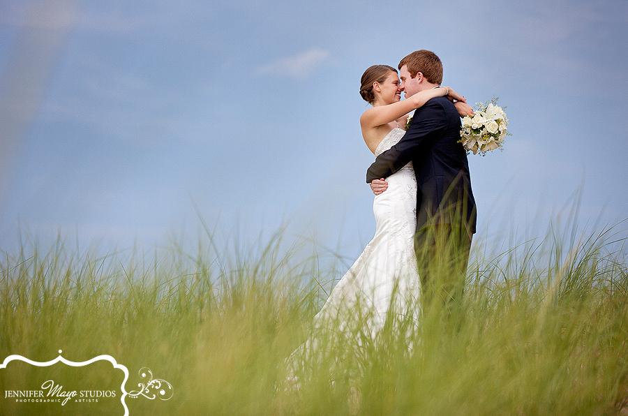 St Joseph wedding lake michigan